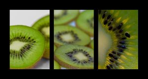 Kiwi Triptych by DanLeach