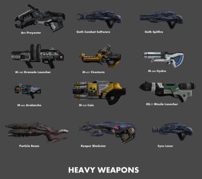 Heavy Weapons by nach77