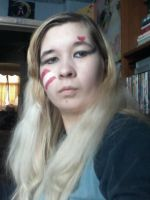 Adam Ant Prince Charming inspired make up by Londonexpofan