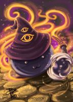 Poring Wizard by miserymirror