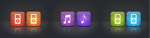 Genesis - WIP Music icons by JackieTran