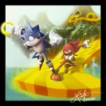 Sonic v Knuckles by TheDailyNissan - Sonic Severler ��in * 2