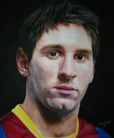 Leo Messi by agusgusart