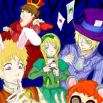 Butters Lovers in Wonderland by Mzellepixie
