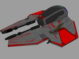 Update:Jedi Interceptor--ROUGH by JediKaputski
