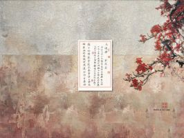 ancient Chinese calligraphy.. by ohmyivan