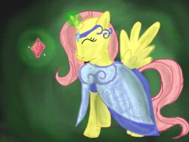 Princess Fluttershy the Kind by cobralash