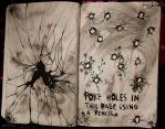WTJ - Poke holes in this page using a pencil by kvicka