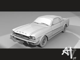 Ford Mustang by DeathFromAbove86