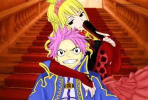 Natsu and Lucy II by EmilysArmy