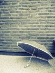 Lonely umbrella... by LadyFianna