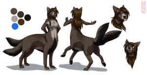 Sabrina Ref Sheet by Sabrina-taur