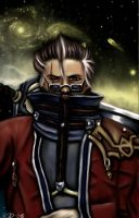 Auron-Final Fantasy X- by miss-mustang