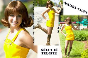Selphie Cosplay Collage by yunaleonhart