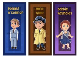 Singin' in the rain Chibis by panzergal