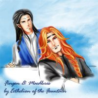 Fingon and Maedhros: Friends by EcthelionF