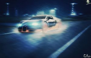 Bugatti Veyron ( Refocus Effect version ) by NO-LooK-PaSS