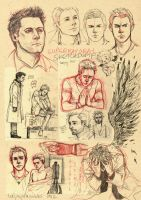 SPN sketchdump by TashinaJacob