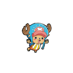Chopper animated (OnePiece) by Flyione