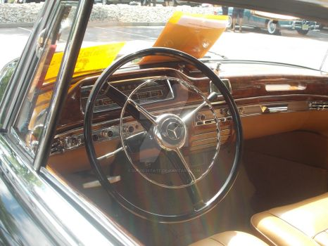 1957 Mercedes Cabriolet Dashboard by David3State