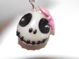 Clay Skull by funkypinkgal