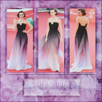 Photopack 2184 - Lily Collins by BestPhotopacksEverr
