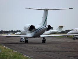 Olympic bizjet influx by captainflynn