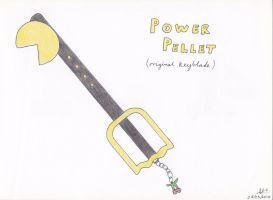 Keyblade - The Power Pellet :S by Saxdude26