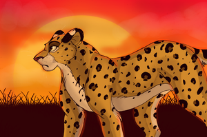 African Beauty by X-x-Magpie-x-X