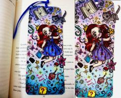 .:Cute Bookmark:. by Lil-melody