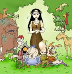 Snow White and the 7 Dwarves by SSakurai