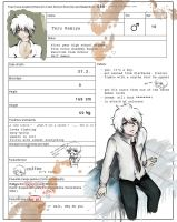 Ao no exorcist OC: Teru Kamiya by SkipThatBeat