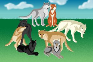 The Pack by kaser