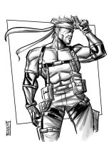 Solid Snake by Supajoe