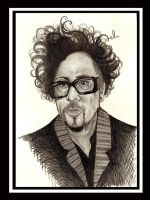 tim burton by vasodelirium