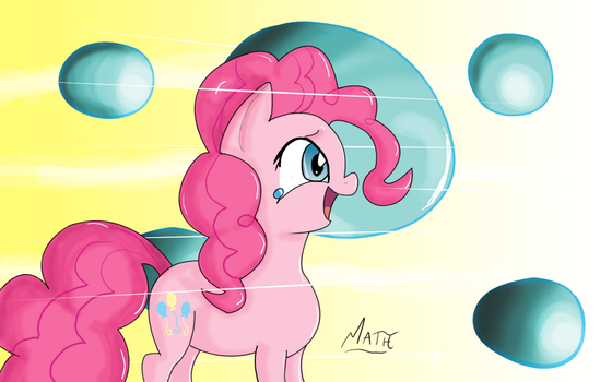 Don't go into the light, Pinkie Pie! by GelatinousScribbles