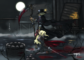 Don't Think Too Hard, Lady Maria by MareniusArt