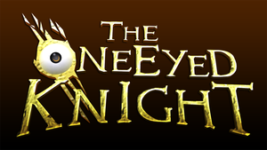 (Work In Progress) The One Eyed Knight logo by sourceshift