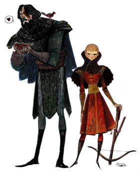 Game of Thrones Prince and the Hound by Phobs