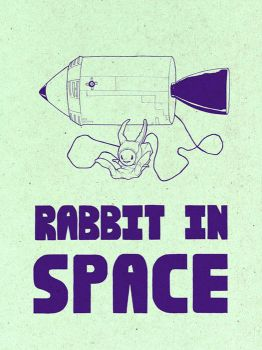 Rabbit In Space by MadSketcher