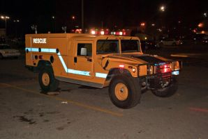 hummer H1 rescue truck by wolvesone