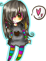 Chibi owo My first comission by MooChuu