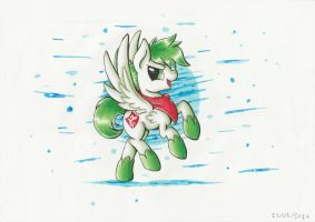 Art Trade : Shaymin by PumpkinKikile