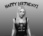 Angela Gossow birthday portrait by satans-anger