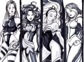 X-BABES by LadyMignon