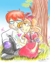 :: Dexter and Blossom :: by samycat