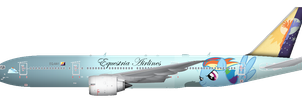 Equestria Airlines Livery by FadhilPF