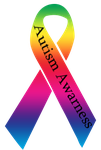 Autism Awareness Ribbon by RoseDragonGuardian92