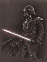 Darth Vader by barbaramj