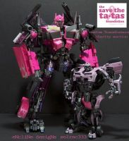 Save The Tatas Prime and Bee by Solrac333